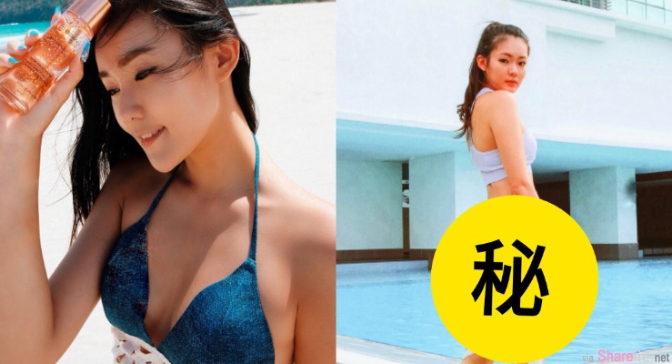 大马正妹艺人罗巧棿,泳池边露出「裸臀」惊呆网友