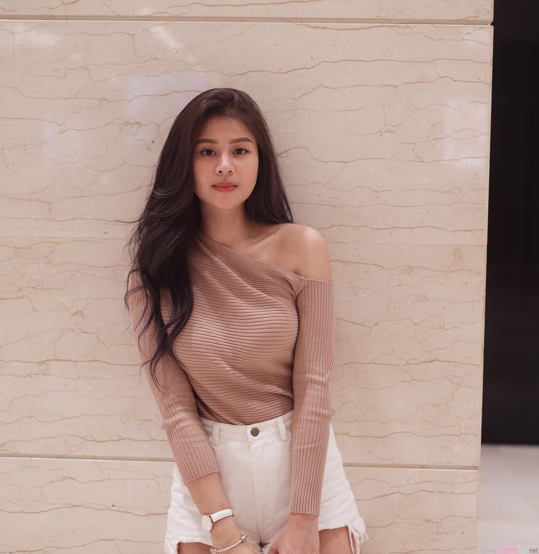 甜美正妹Yuth Gan,完美身材曲线,网友:怎么那么翘!