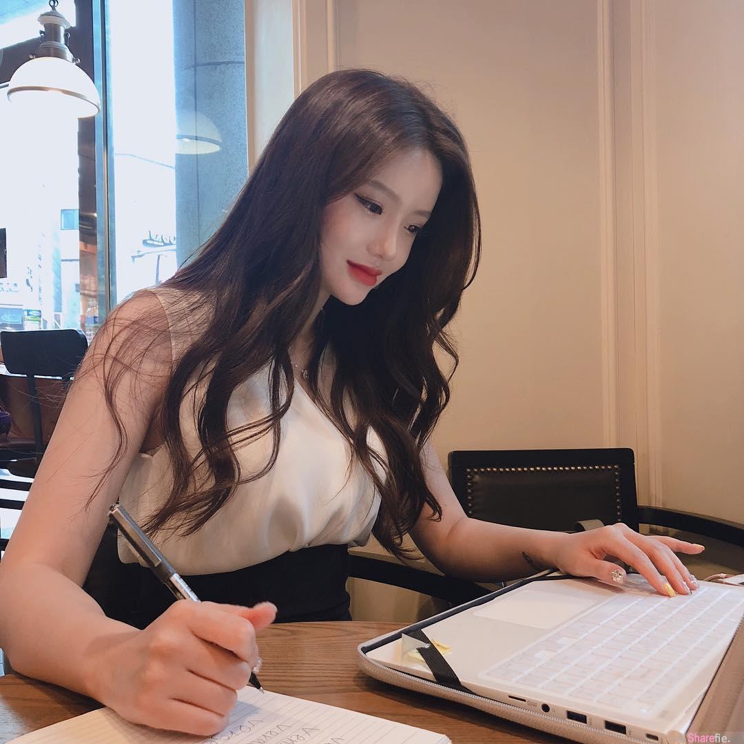 韩国最美英文老师,爸爸也想学英文