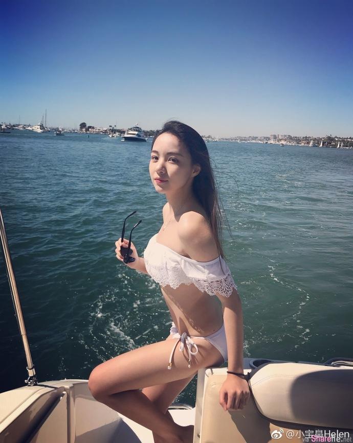中国海外清纯正妹小宝鼻Helen,竟po性感撩衣画面网友瞬间充血