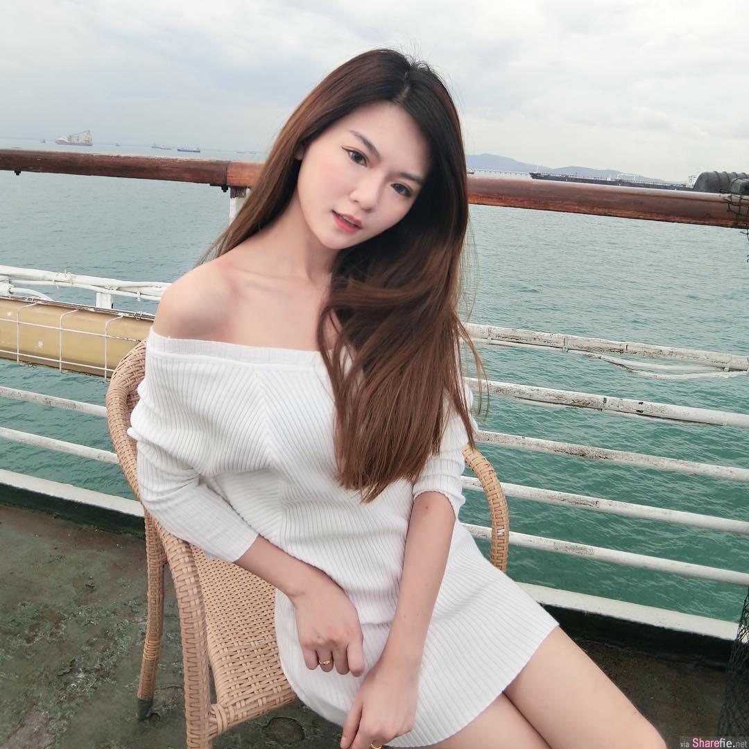 大马网卖正妹Cindy Ong,明星气质