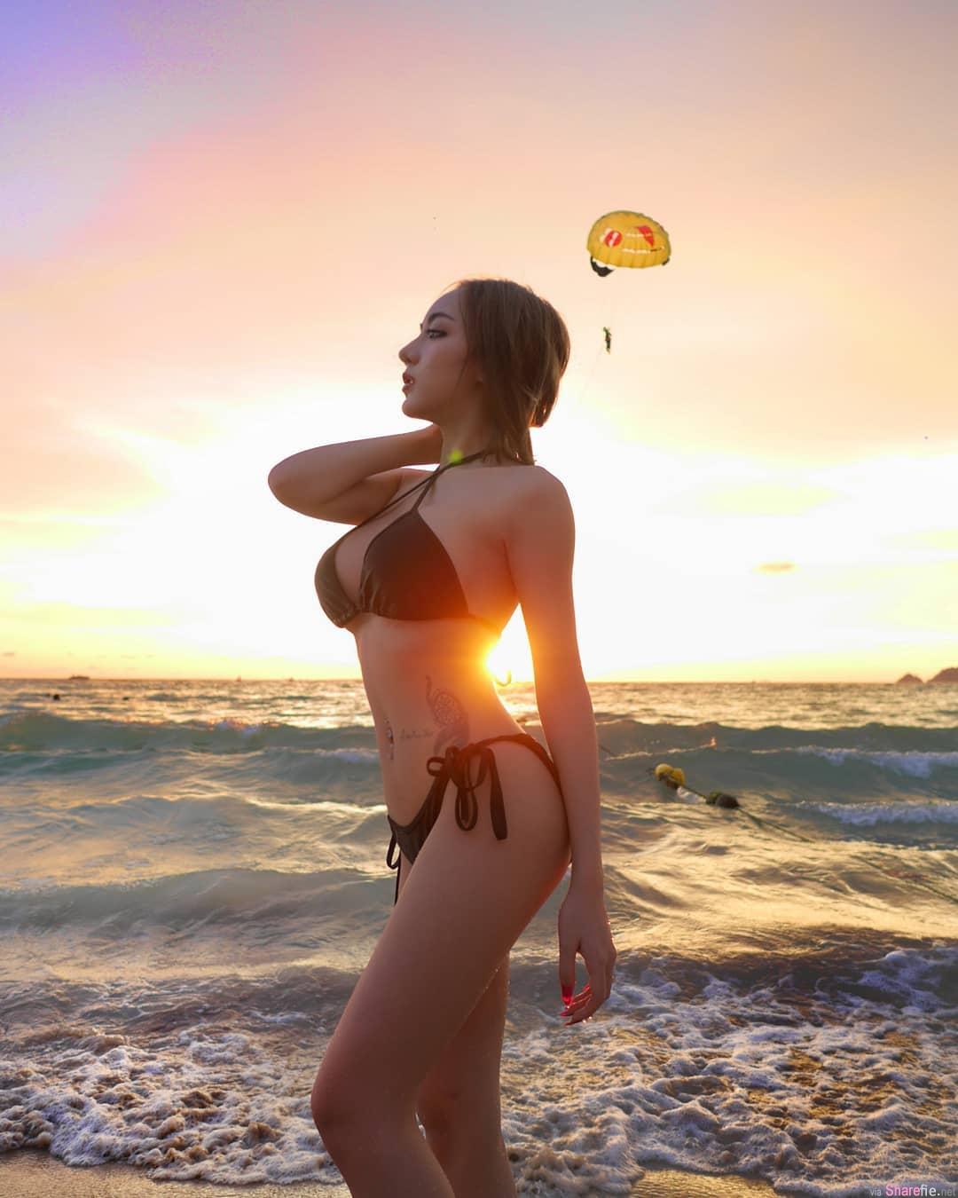 泰国甜美女DJ,包不住的性感