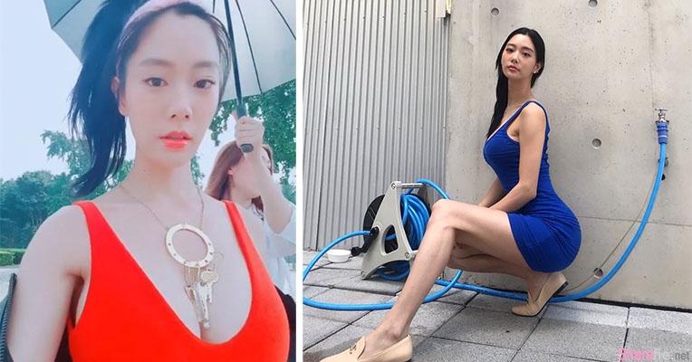 韩国「世界第二美」克拉拉,水滴奶自拍,网友:我头晕