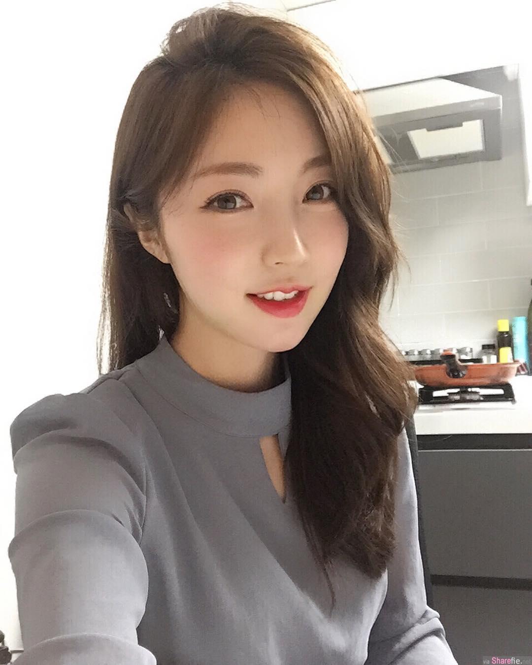 韩国极品正妹,完美S曲线