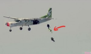来自天堂的一跳!他竟然没穿「降落伞」就在高空从飞机跳下去