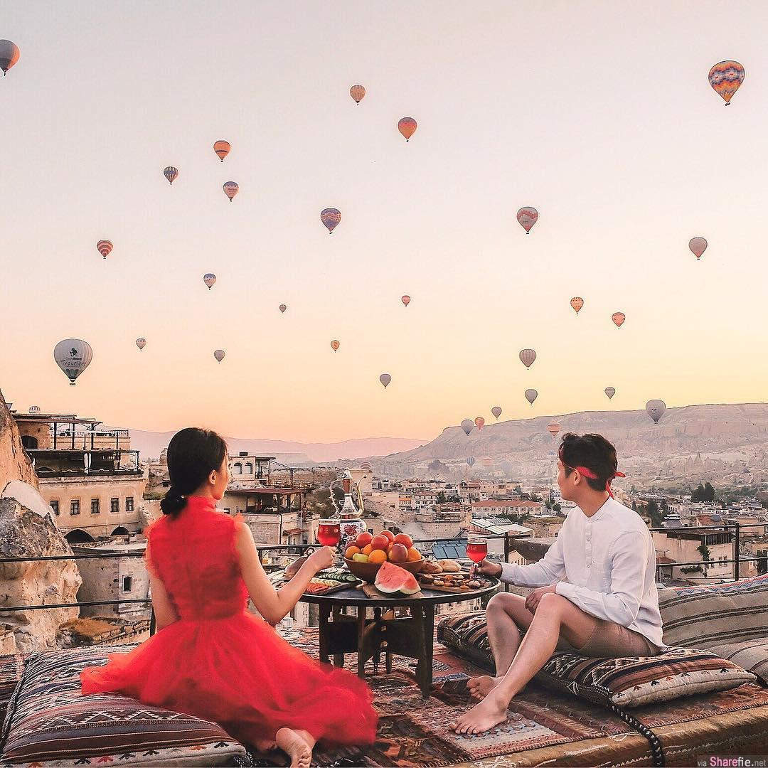 正妹Joanne Ng土耳其之旅,画面美呆网友