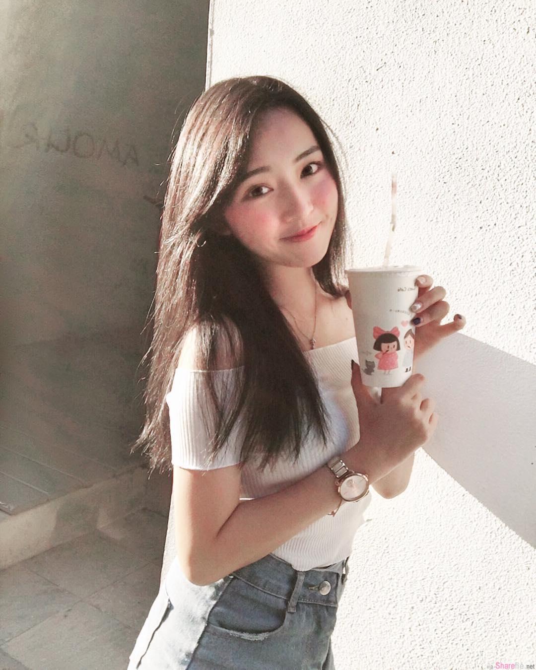 校园正妹陈予婕,美术女神长大了
