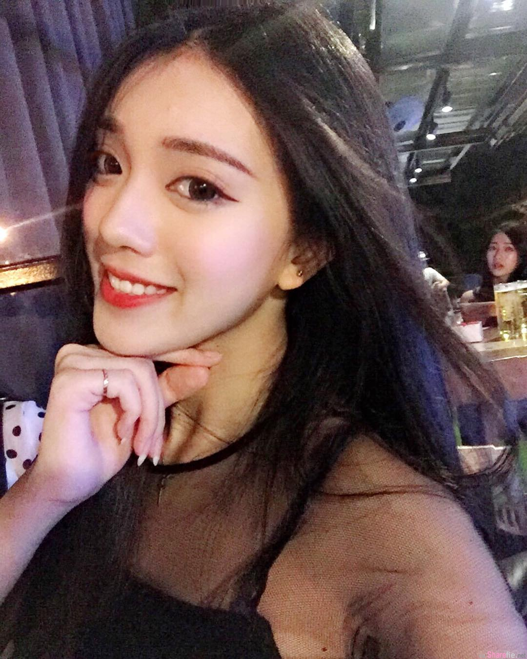 大马正妹Candice Lim泰国旅游一出酒店门就「湿身了」,网友:我鼻血已流