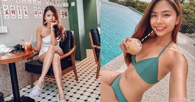 新加坡正妹XinLin,笑容甜美小清新