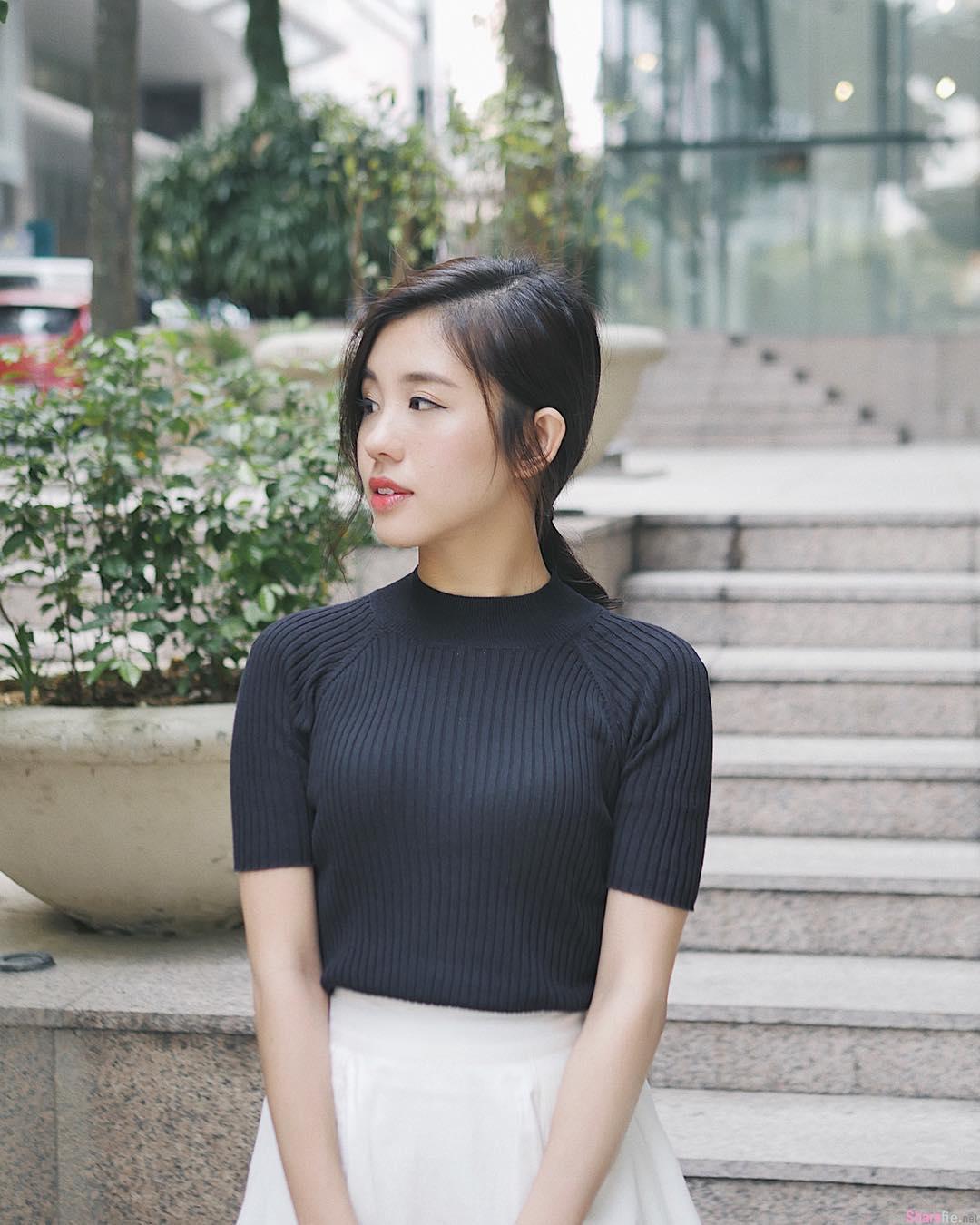 大马正妹Kelly Tan,性感热裤活力四射