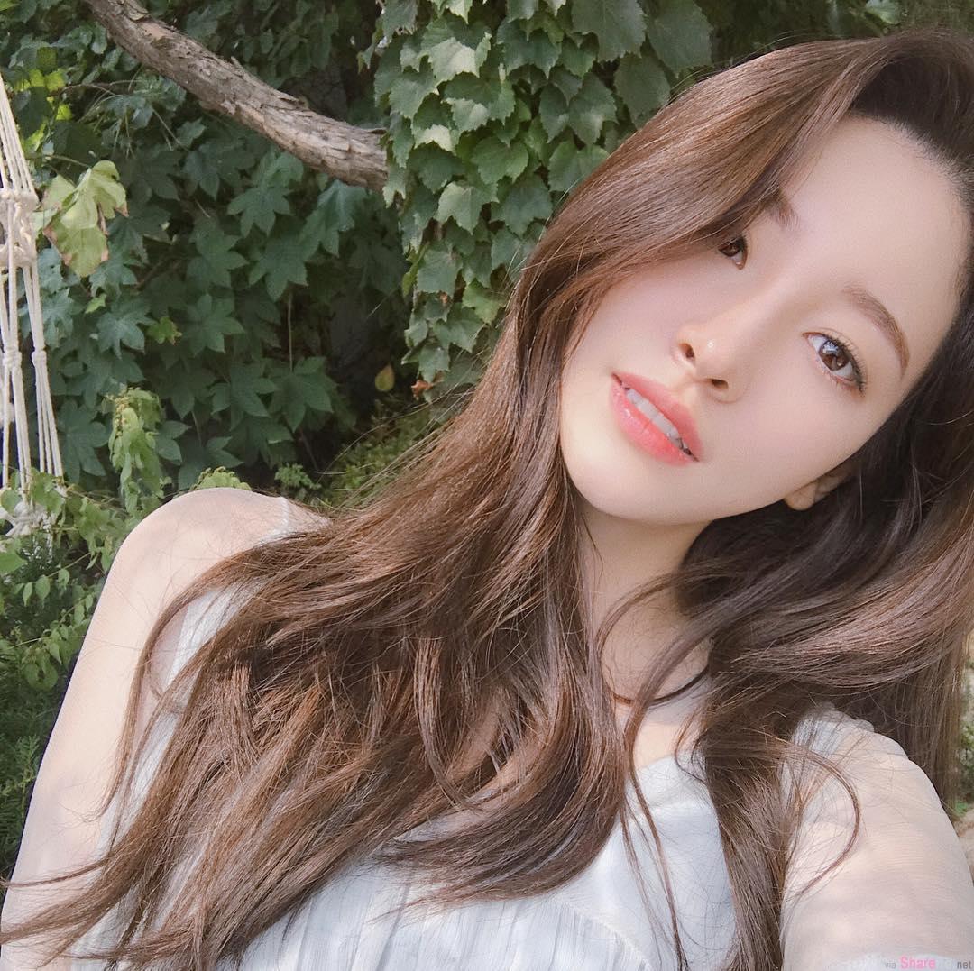 韩国正妹g_bless_u,绝美脸蛋女神魅力