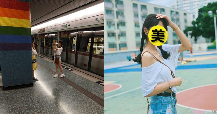 香港地铁发现小清新正妹,网友神出本人竟然只有15岁,网友:妹妹我等你