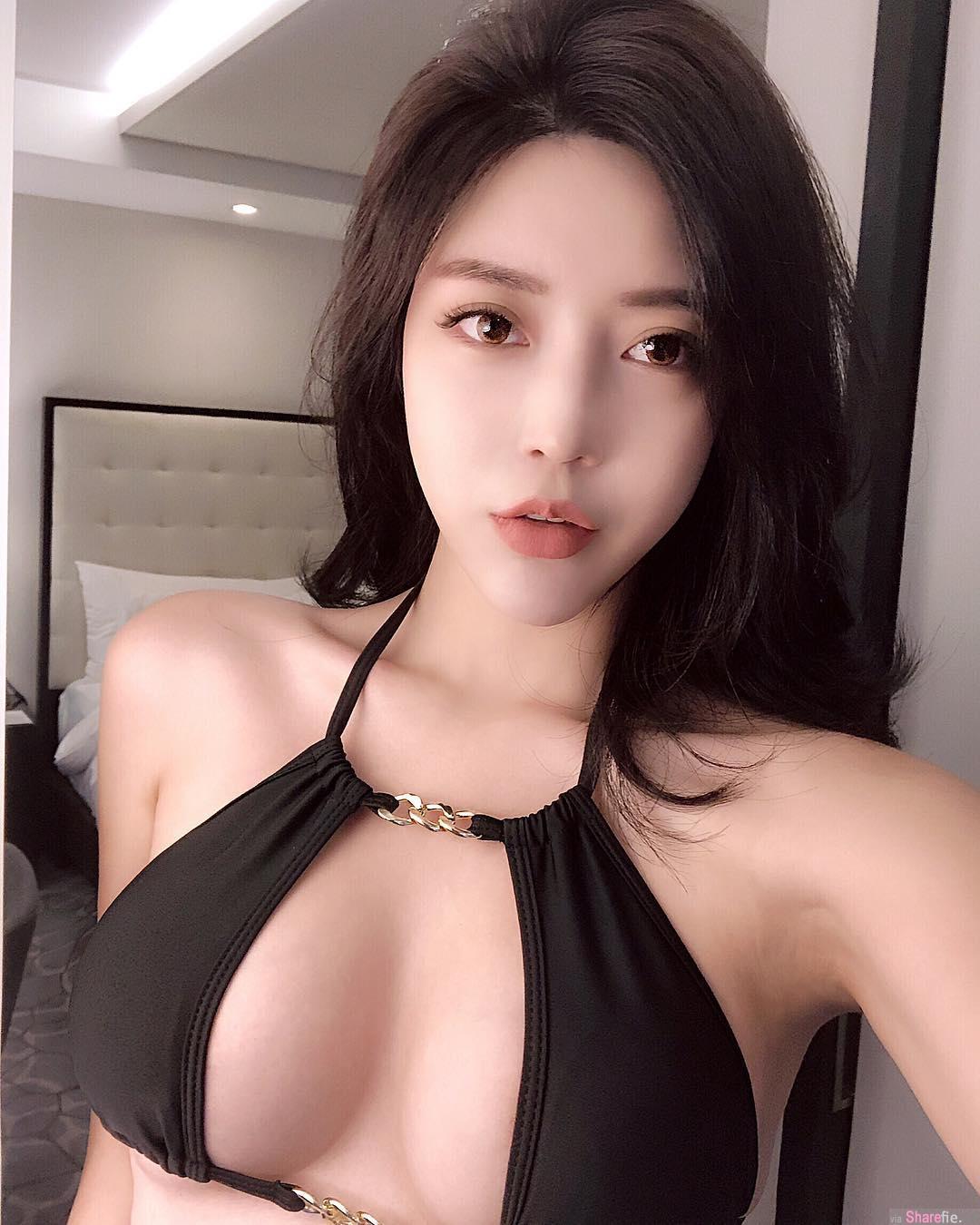 韩国麻豆Choi Somi凹凸身材,犯规透视逼死隔壁食客