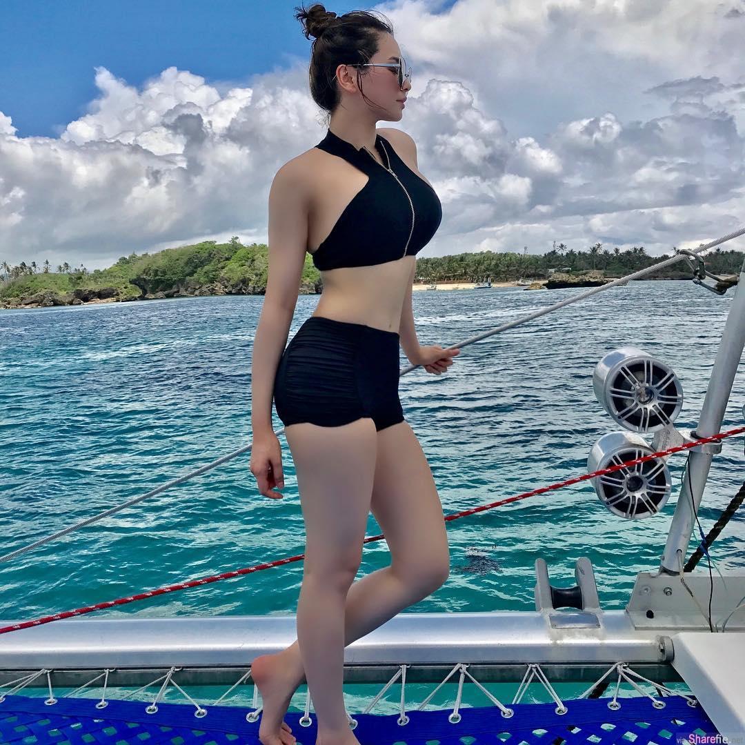 菲律宾健身正妹Aya Tubillo,超勐身材不得了