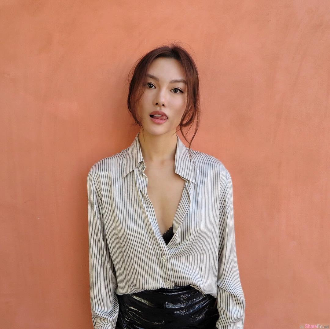 三国混血女模Gail,冷艳性感美女