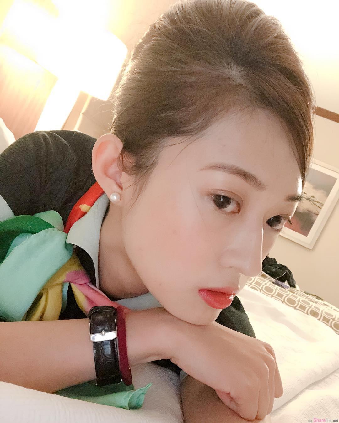 正妹空姐Cynthia Li,甜美颜值超兇身材