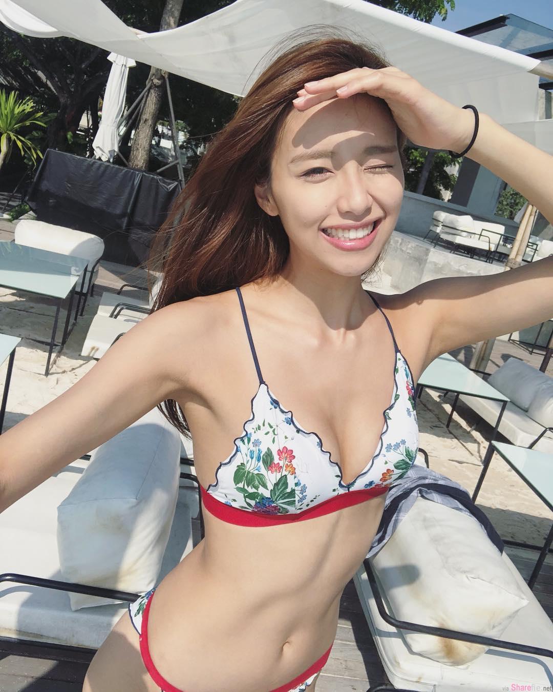 香港顶级正妹曾淑雅,阳光笑容瞬间让人融化