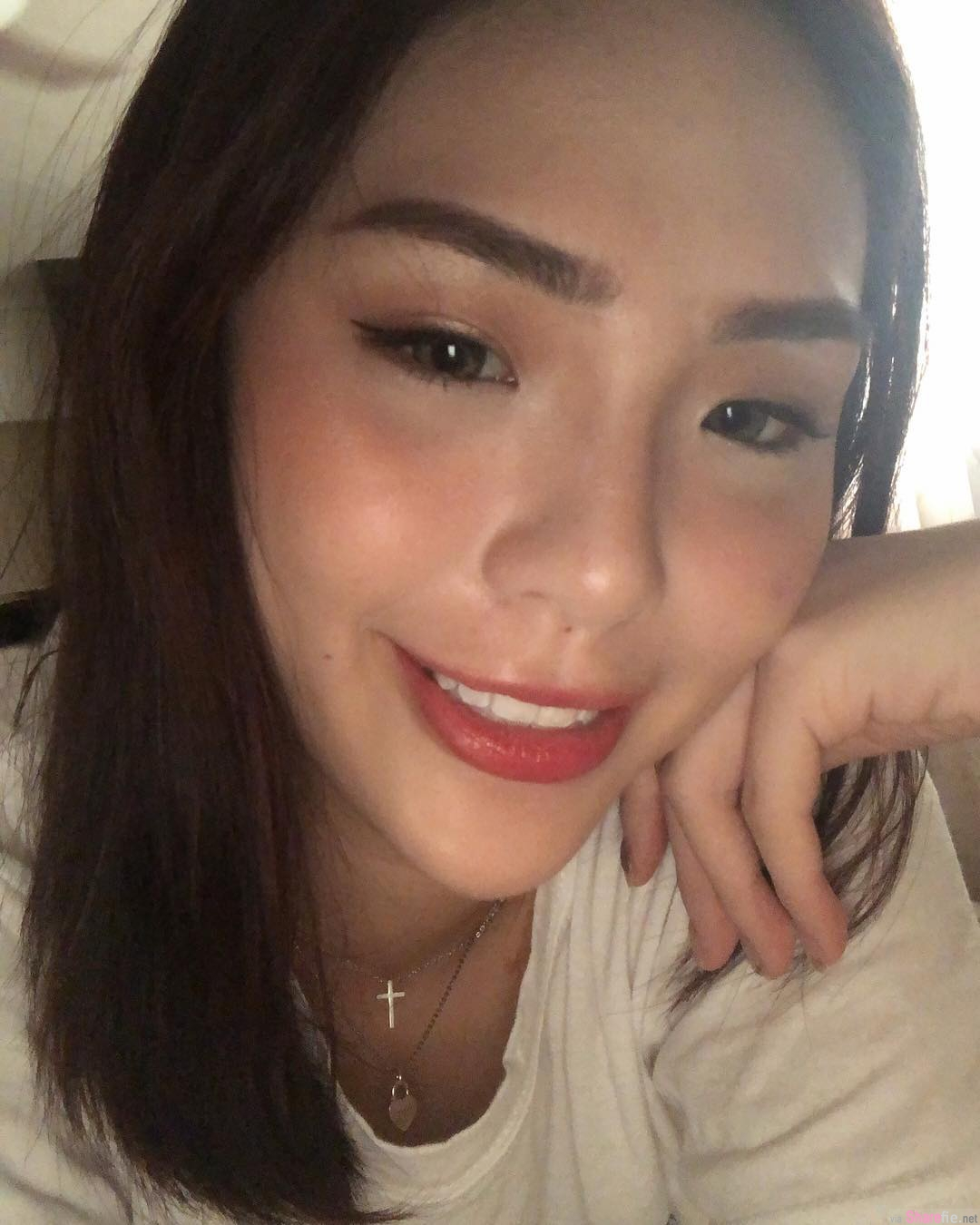 甜美正妹Jamie Lau,迷人笑容好疗愈