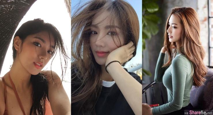 韩国甜美正妹,气质迷人一秒就恋爱