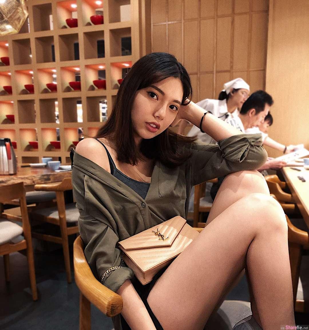 正妹Maggie Su气质迷人,用餐这样拍也太犯规