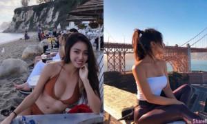 台湾妹子Livy到美国旅游,每天出门都超犯规