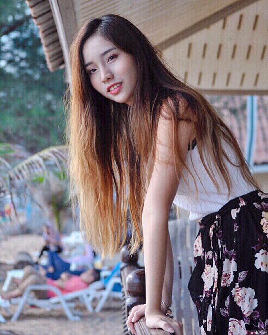 大马正妹Serena Wong,甜美女孩