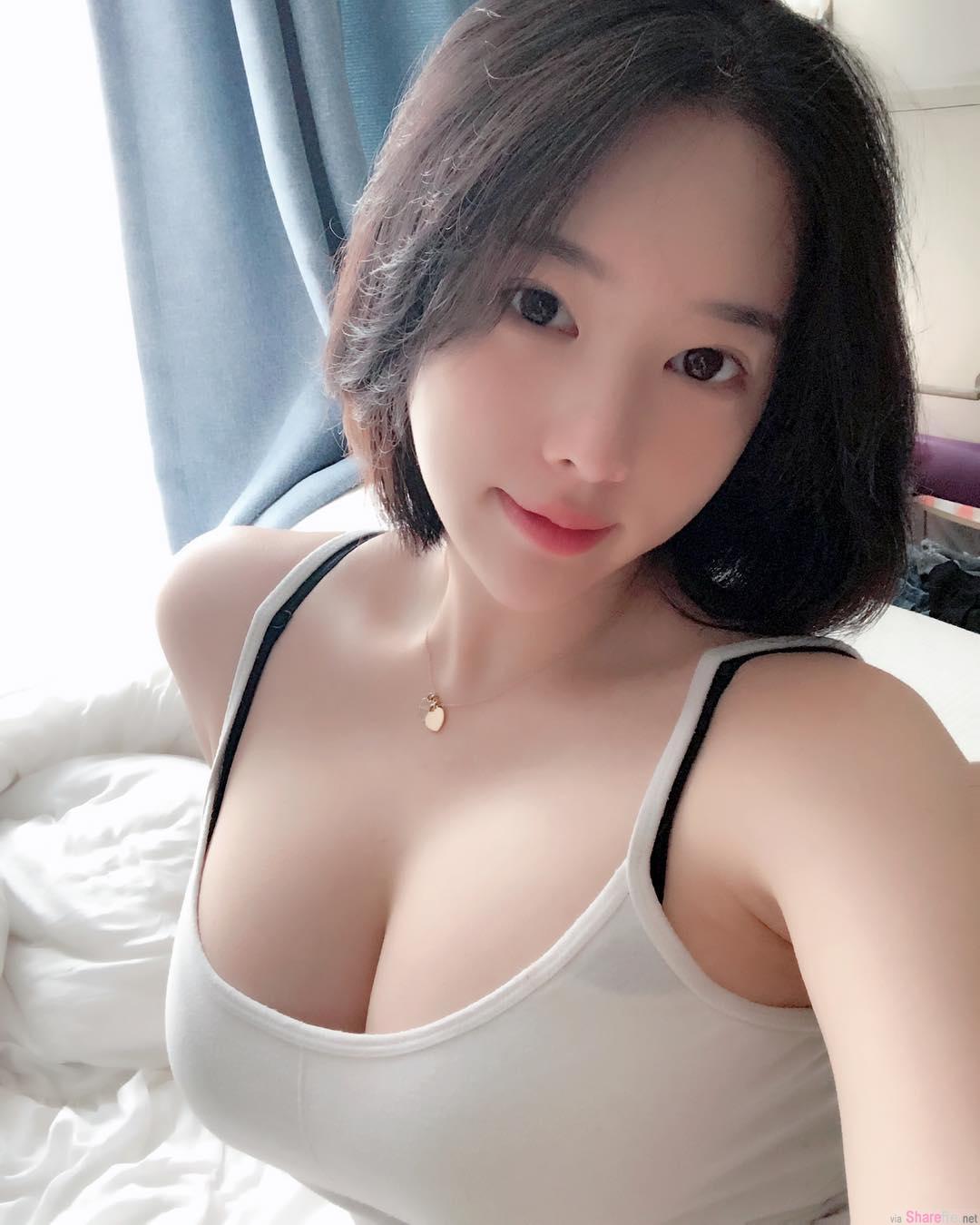 韩国健身正妹,肉感线条无懈可击