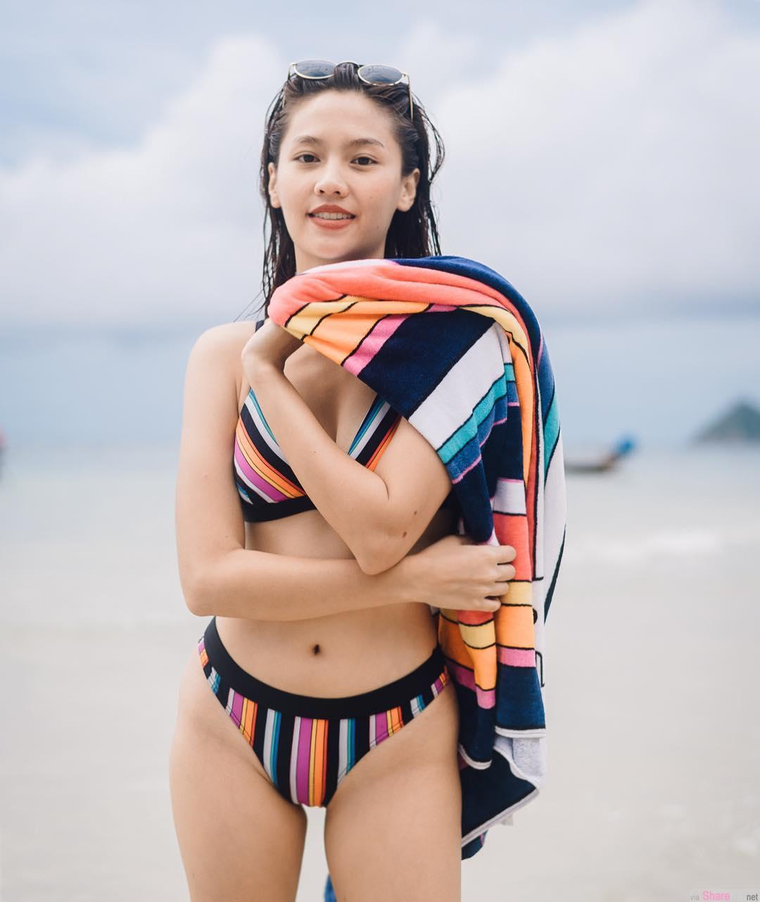 泰国正妹Metal,脸蛋甜美泳装照太犯规