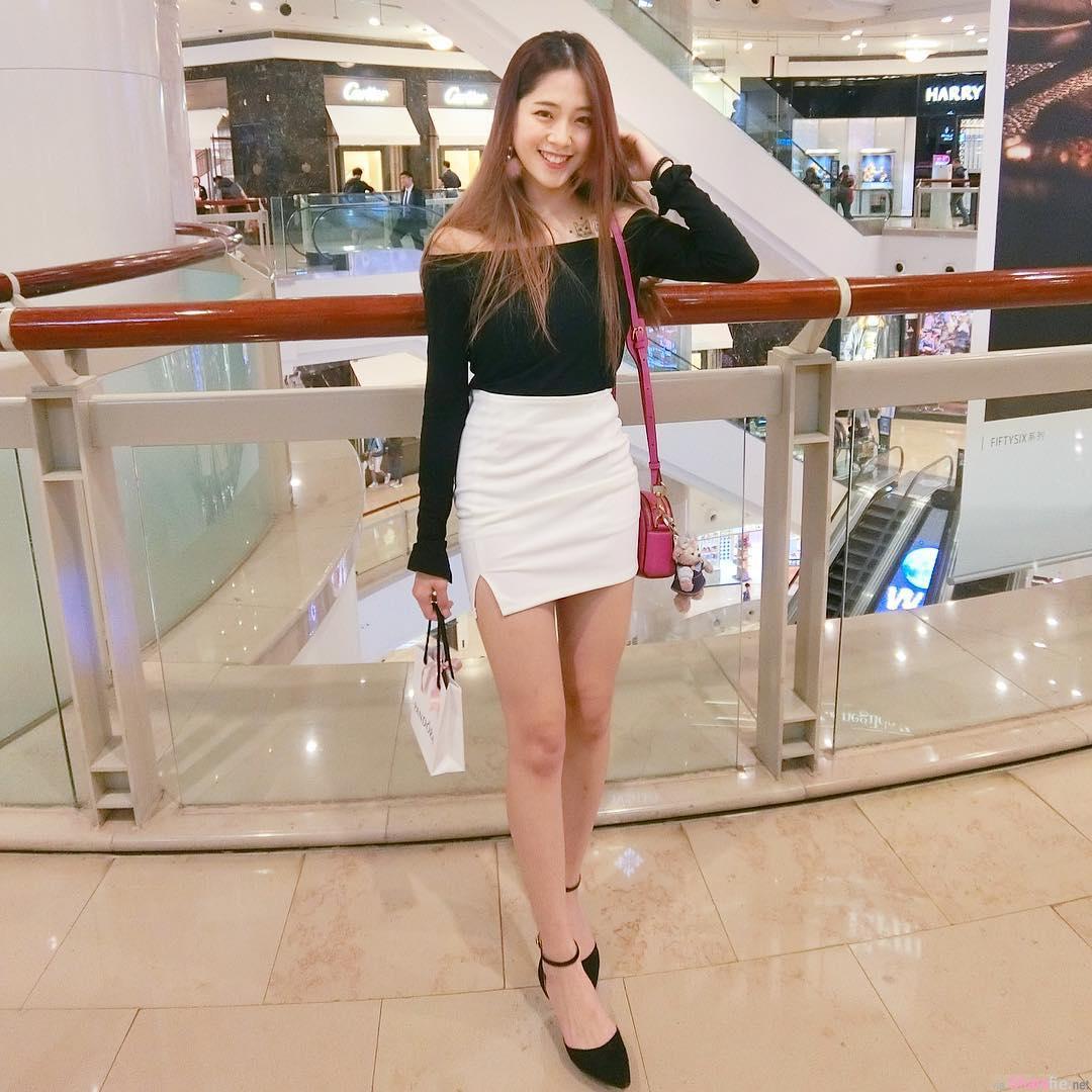 甜美正妹陈芷均,比基尼辣秀性感曲线