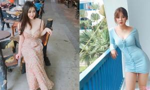 越南白皙正妹甜美可爱,S曲线翘臀身材超棒