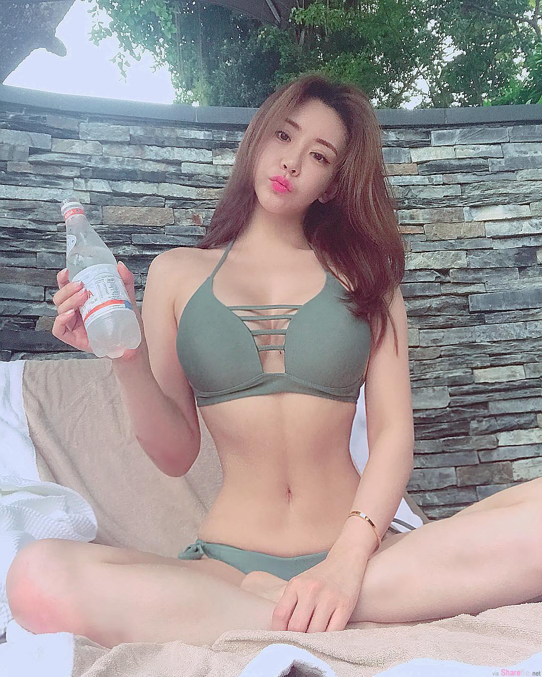 韩国正妹Jenny, 超正身材「兇勐S曲线」!