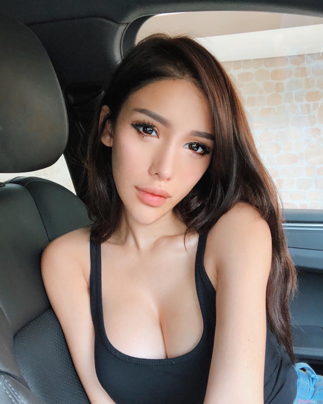 新加坡火辣DJ Jade Rasif,比基尼大秀饱满身材,网友:乳晕探头走光啦