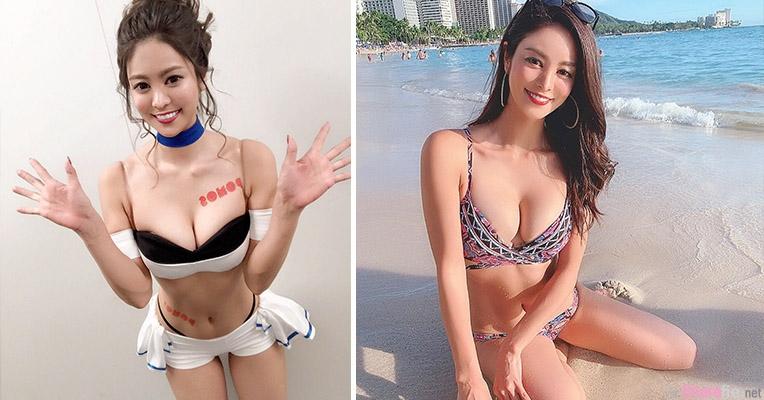 日本正妹Oyanagi Mayu,清新笑容身材超棒