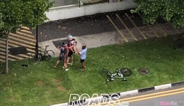 脚车骑士遭撞飞后续,民众拍下骑士怒抢手机