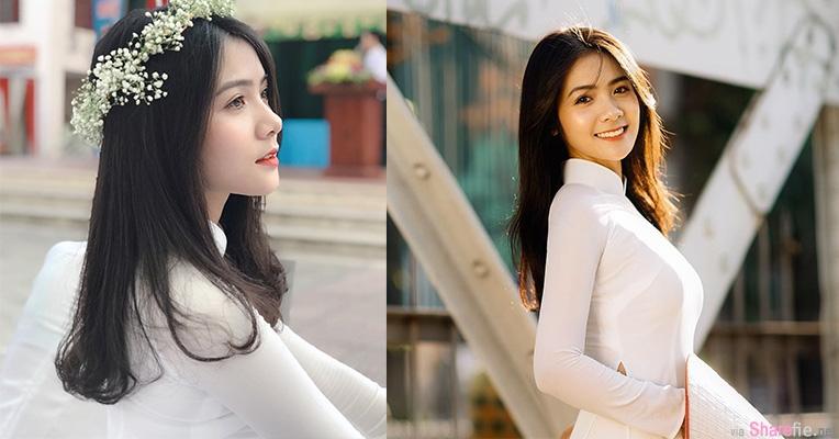 越南甜美正妹,天使般微笑