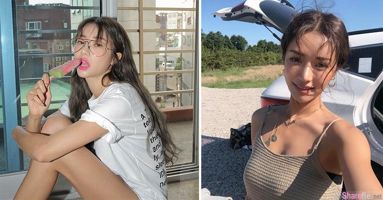 韩国正妹朴韶拉,时尚美女气质迷人