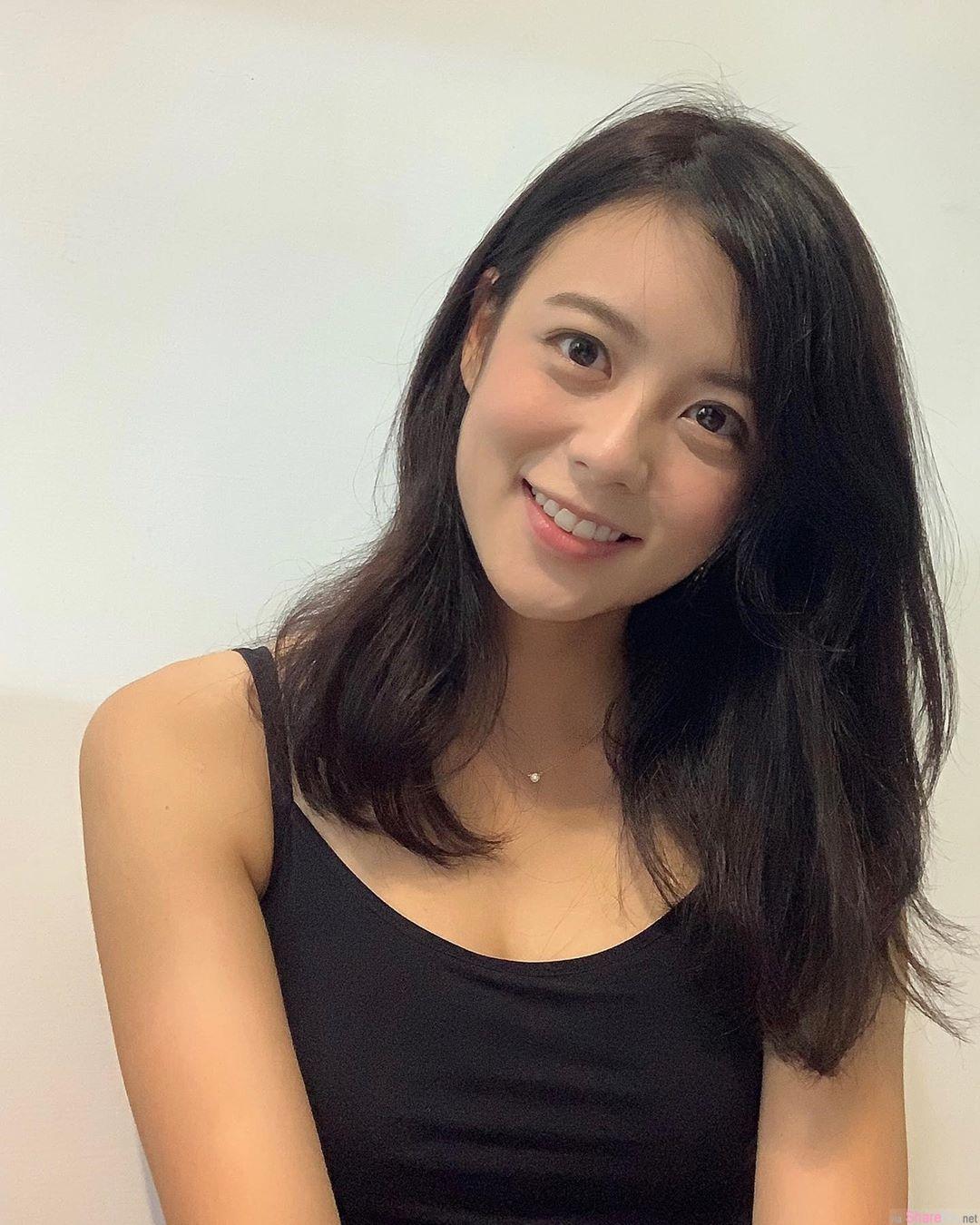 台湾正妹Aileen Lin,甜美气质