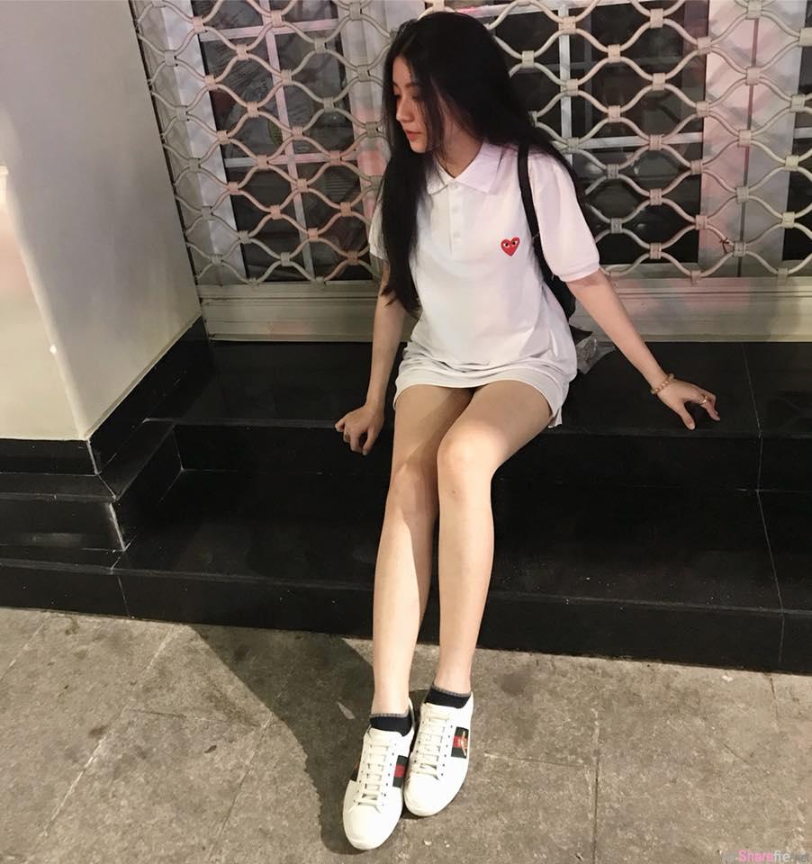 越南甜美正妹,零死角女孩