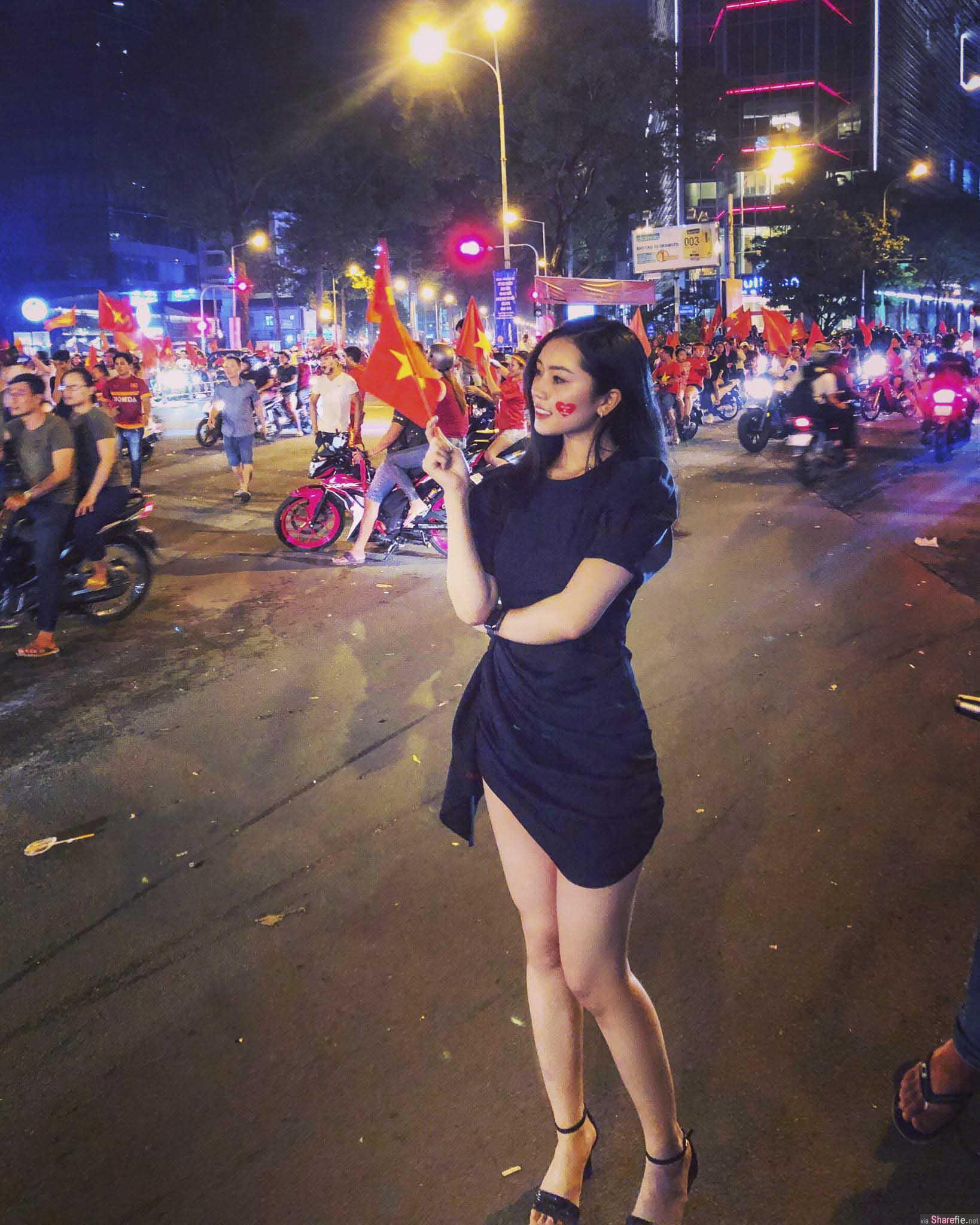 越南正妹白皙长腿,比基尼释放火辣身材