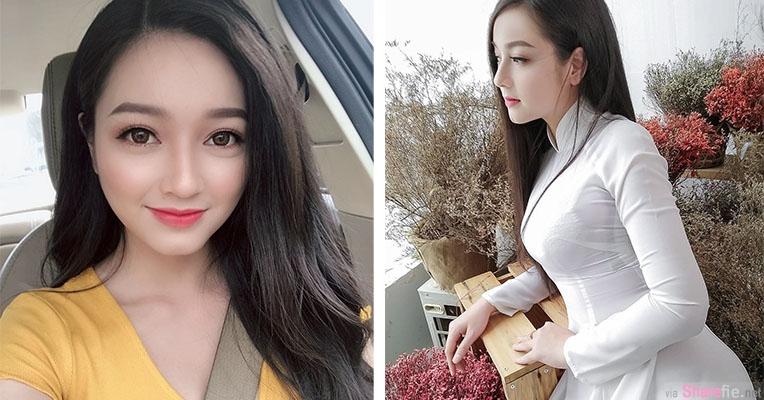 越南旗袍正妹,笑容甜美身材迷人