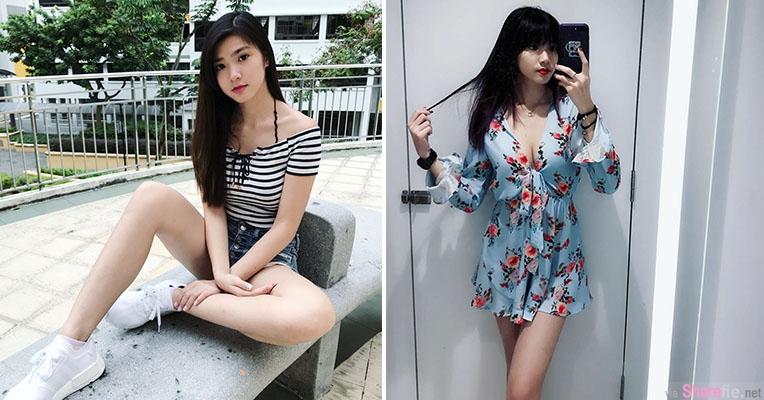 正妹Melissa Poh甜美可爱,青春美女少