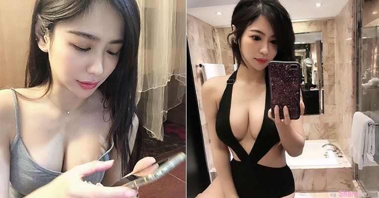 正妹杨吉儿超兇身材,IG丰胸代言辣翻网友