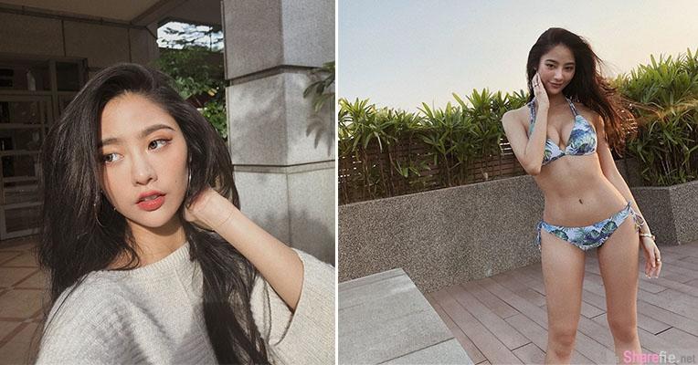 正妹Jessica Lin三点式比基尼,解放诱人曲线