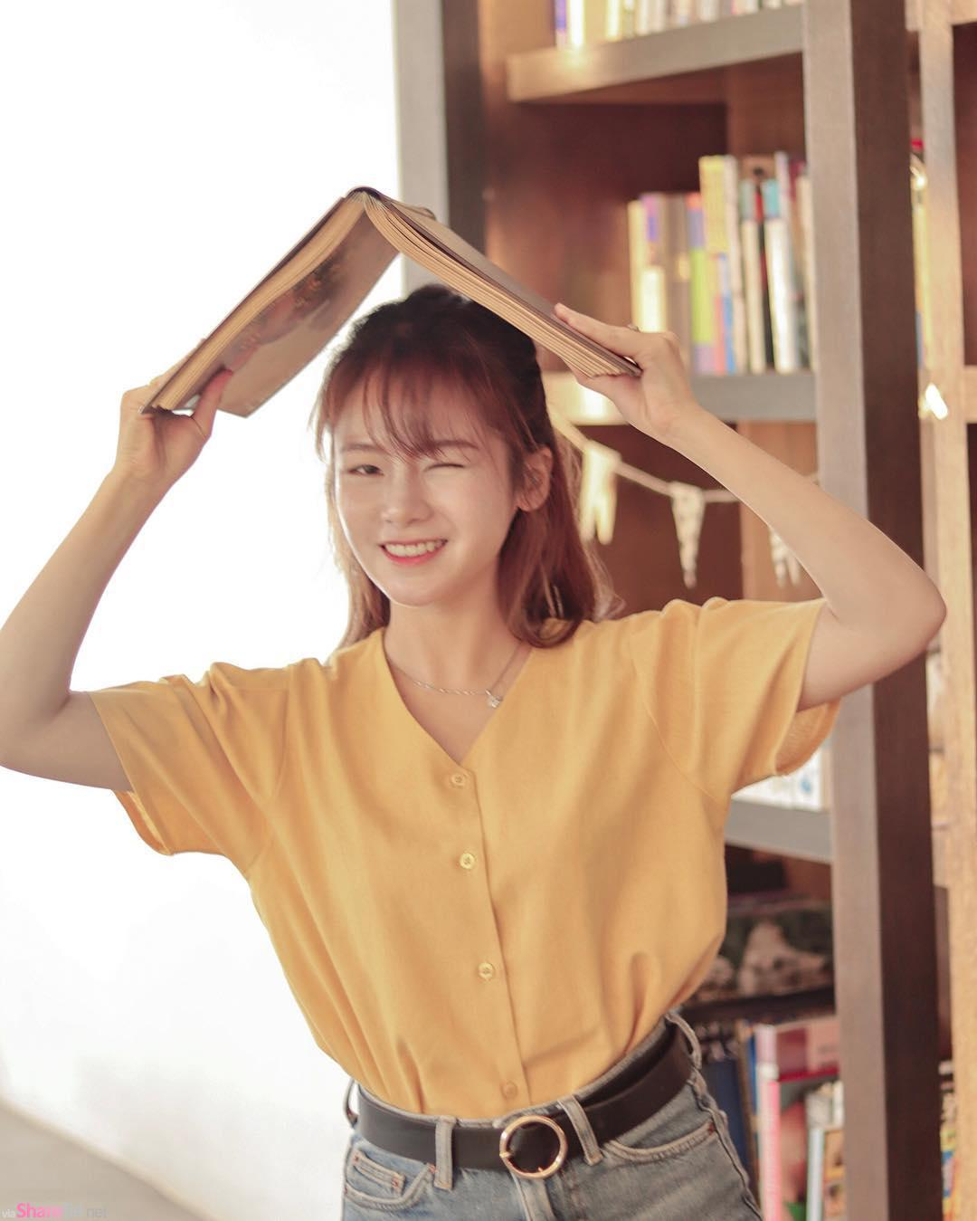 大马正妹Dong清新自然,阳光美少女