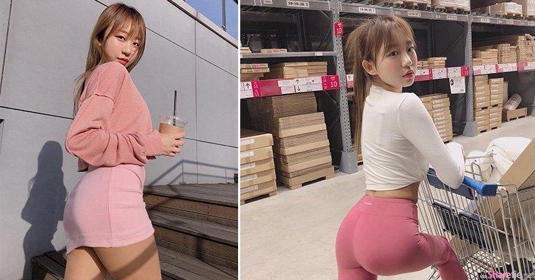 韩国正妹DJ Henney,紧身衣秀出诱人紧緻曲线