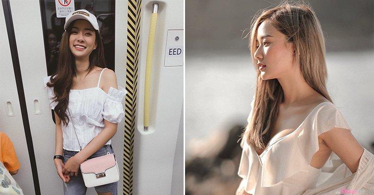 泰国清新正妹Nichakarn,海边拍写真身材原来藏很大
