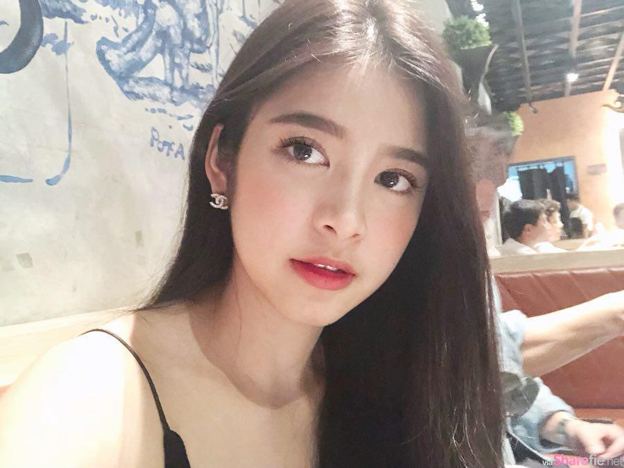 泰国泼水节惊现清新大学正妹,甜到让人一见钟情