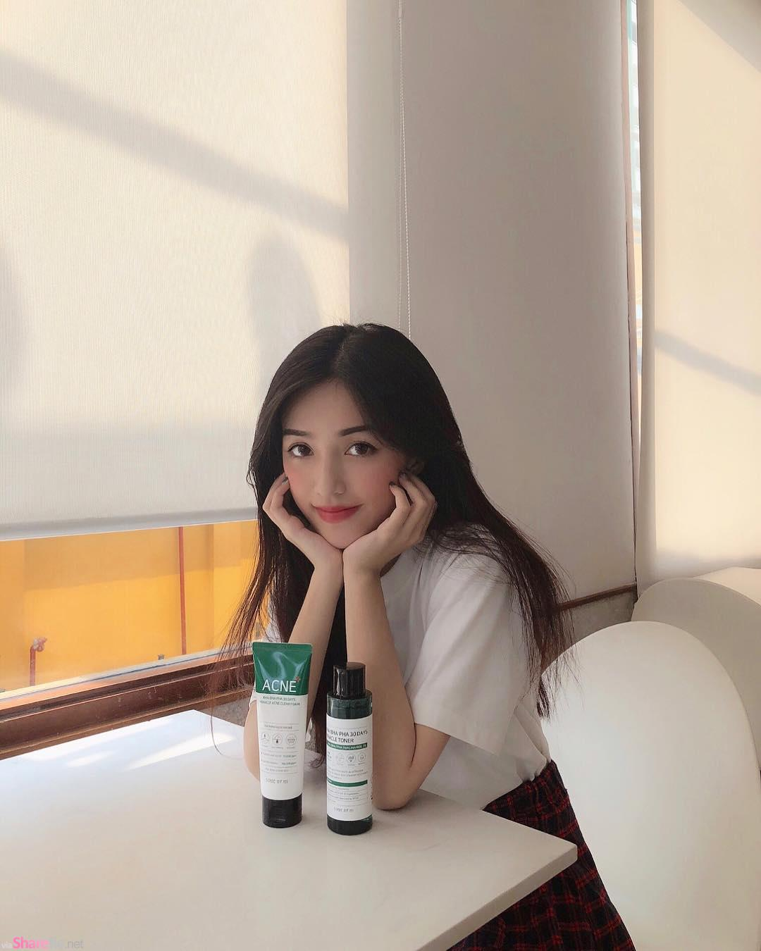 越南甜美正妹,想和她一起去旅游