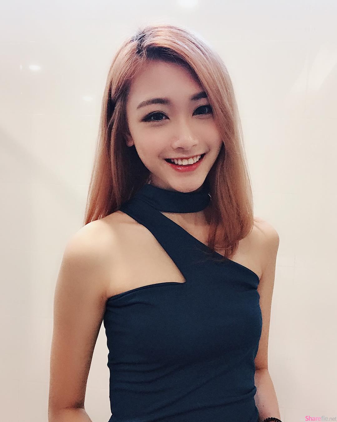 大马清新正妹SR,微微一笑让人一秒就恋爱