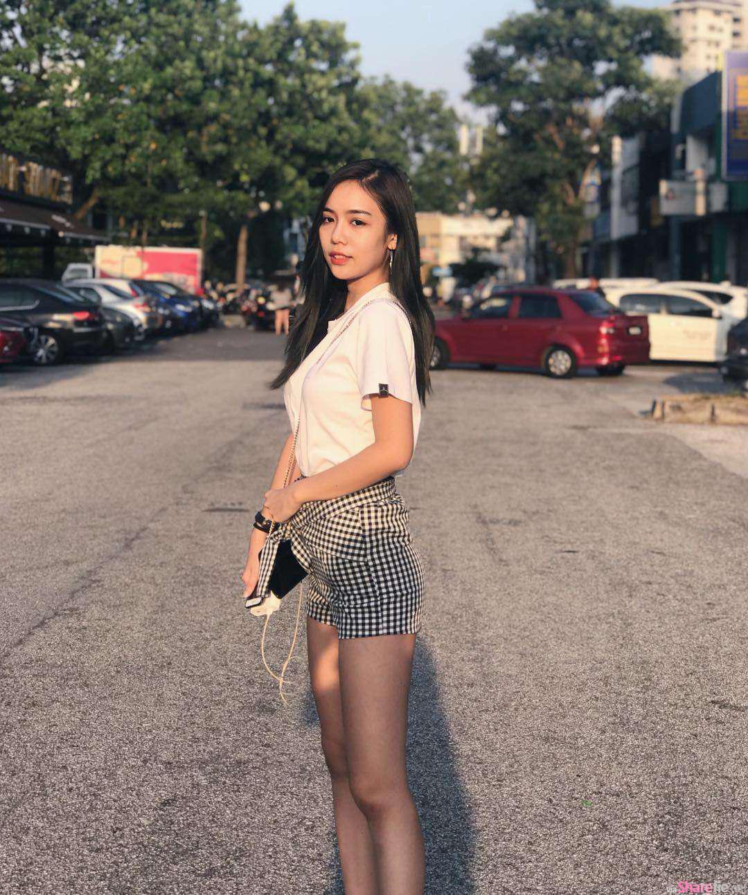 大马正妹Serene Cheng,内衣写真超级性感